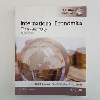 International Economics: Theory and Policy, Global Edition (10th Edition) Textbook