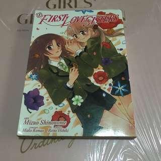 First love sisters Manga