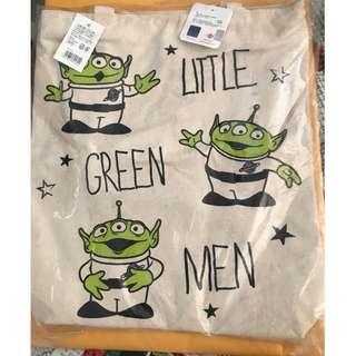 【現貨】Disney tote bag shopping bag 日本原裝正品 垂直型 A4可入 6款 三眼仔