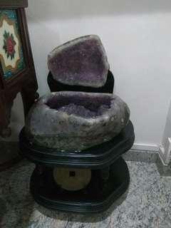 Nice and big amethyst cave , 聚寶盆