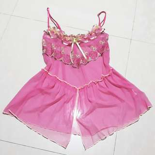 DAINTY PINK LINGERIE