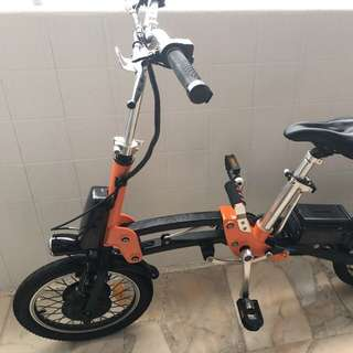 Mobot high end e-bicycle (16 inch tyre)