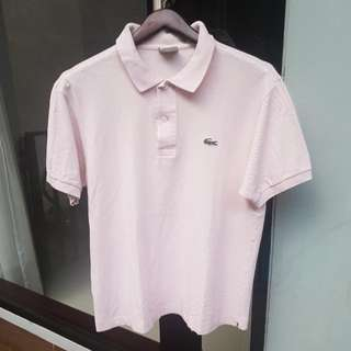 Lacoste Light Pink Polo Shirt