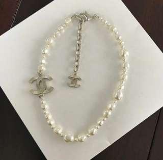 特賣現貨在台實品拍攝 Chanel不規則珍珠項鍊