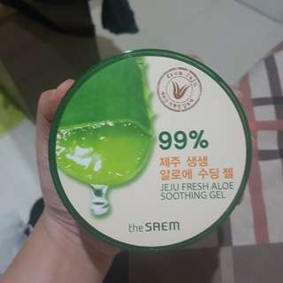 THE SAEM ALOE VERA SOOTHING GEL