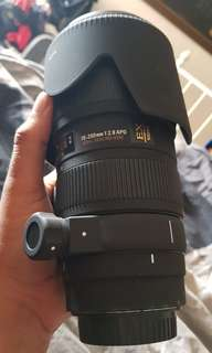 Sigma 70-200 f2.8 for canon