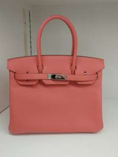 Hermes birkin 30 rose candy
