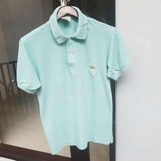 Lacoste 75 Anniversary Light Green Polo Shirt