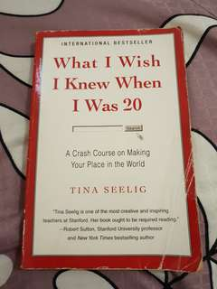 What I Wish I Knew When I Was 20