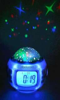 Music and Starry Sky Alarm