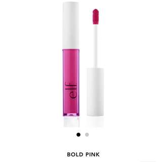 elf Lip Lacquer in Bold Pink