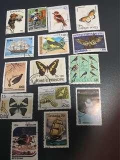 世界各地郵票 World Stamps