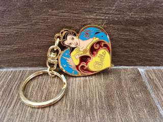 全新 Disney 美女Belle 鎖匙扣