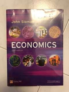Economics Textbook, John Sloman