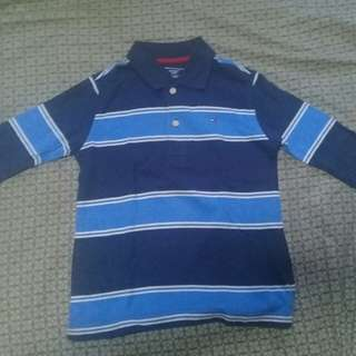 Tommy Hilfiger Long Sleeve (blue stripes)
