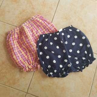 Baby Shorts Bundle 18m