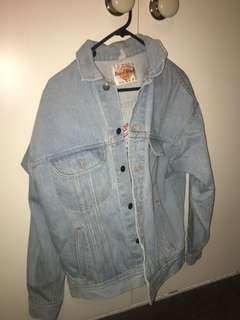 Hard Rock Cafe denim jacket!