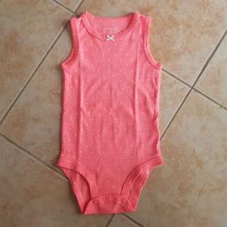 Carter's Onesies 9m Stretch Pink