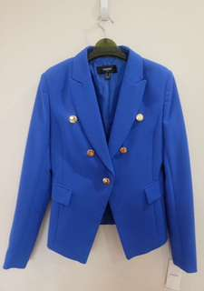 Mango Bright Blue Blazer (brand new)