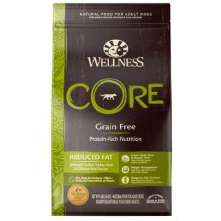 Wellness® CORE Reduced Fat Grain-Free Dry Dog Food