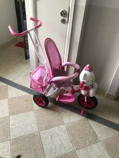 Hello kitty Toddler Tricycle