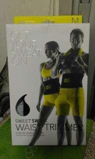 預購 美國直運 Sports Research Sweet Sweat Waist Trimmer 減脂瘦腰護腰運動健身腰帶腹纖腰美體減肥瘦身 馬甲線腹肌速成送減肥膏試用裝