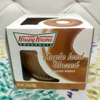 Krispy Kreme Maple Iced Glazed