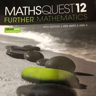 Further maths units 3&4 textbook