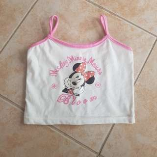 Mickey Minnie Mouse Top 12m baby pambahay shirt