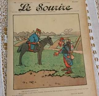 🚚 法國古董報紙