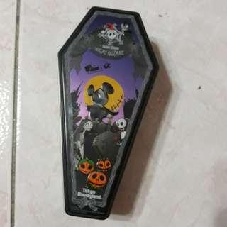 🚚 迪士尼萬聖節傑克糖果鐵盒