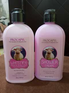 Procapyl Whitening Body Shower & Lotion