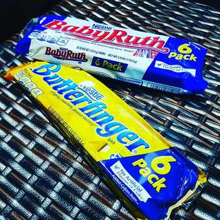Babyruth 6packs ; butterfinger 6packs
