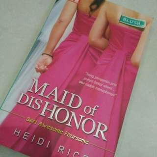 Buku Novel Maid of disHonor