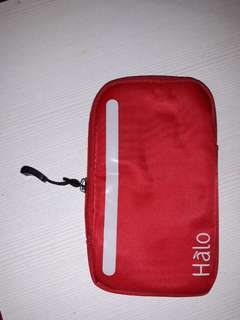 Red helo pouch