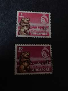 Singapore Stamps Used