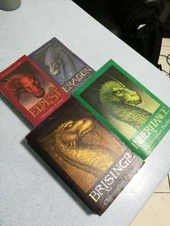 The Inheritance Cycle - Eragon series by Christopher Paolini