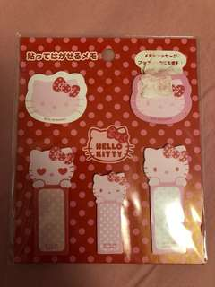 Hello Kitty Memo 貼紙
