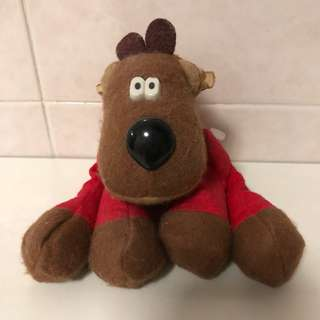 1986 Randy Reindeer Plush Toy