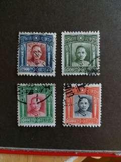 中國郵票民國時期已銷郵票A001