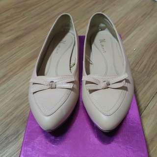 (二手38號) NET 粉色包鞋