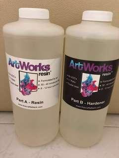 ART WORKS EPOXY RESIN FOR ART