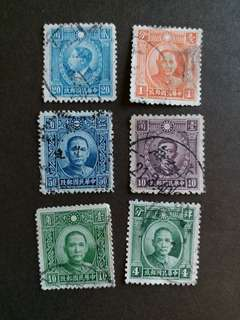 中國郵票民國時期已銷郵票A003