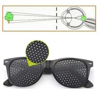 Pinhole spectacles