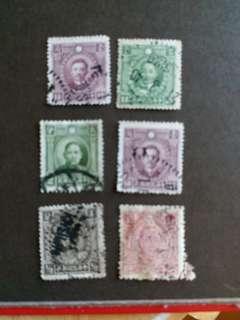 中國郵票民國時期已銷郵票A004