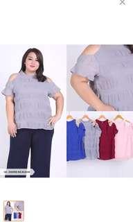 Baju Blouse Jumbo / Big Size