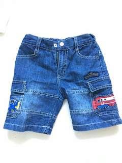 Chuggington denim shorts