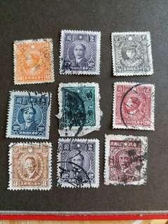 中國郵票民國時期已銷郵票A006