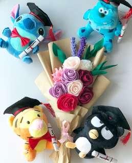 Graduation Flower Bouquet set
