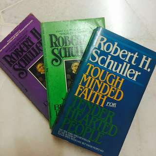 (Set) Robert H. Schuller books